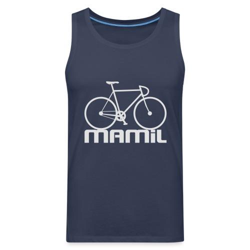 MAMiL Water bottle - Men's Premium Tank Top