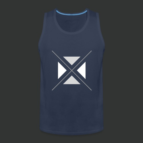 triangles-png - Men's Premium Tank Top