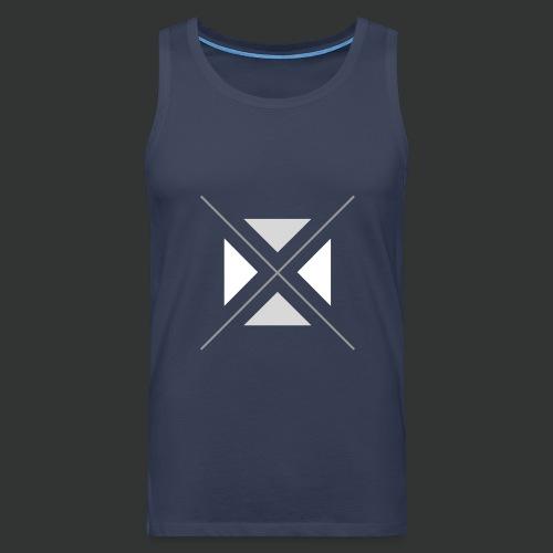 hipster triangles - Men's Premium Tank Top