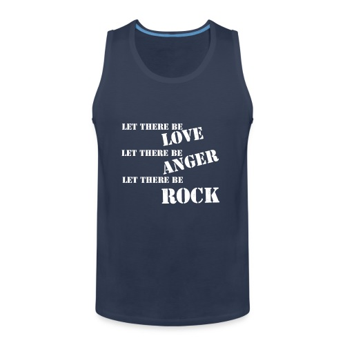 Love Anger Rock - Men's Premium Tank Top
