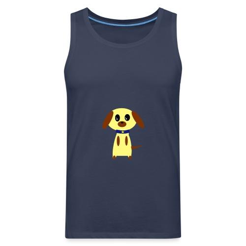 Dog Cute - Männer Premium Tank Top