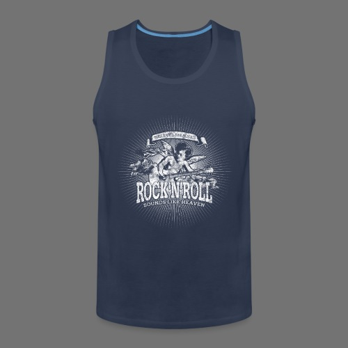 Rock 'n' Roll - Sounds Like Heaven (hvid) - Herre Premium tanktop