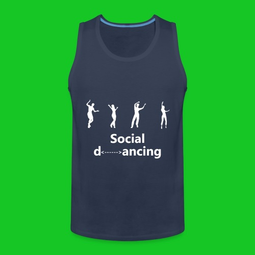 Social dancing - Mannen Premium tank top