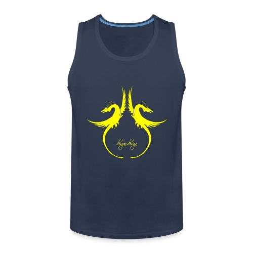 yellow-dragon-dance_01 - Männer Premium Tank Top