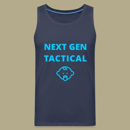 Tactical Baby Boy - Mannen Premium tank top