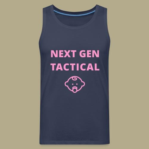 Tactical Baby Girl - Mannen Premium tank top