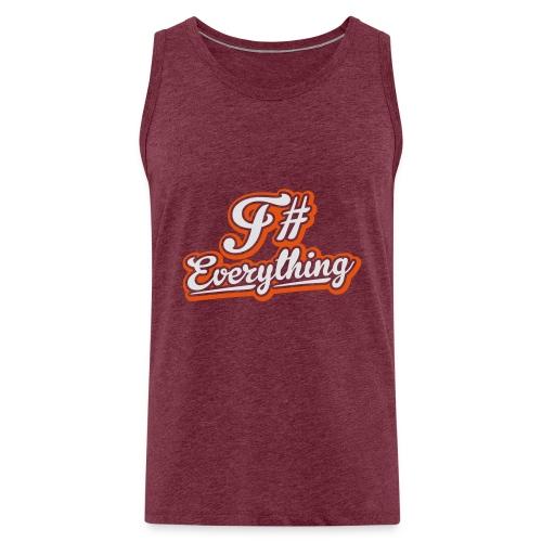 F# Everything - Men's Premium Tank Top
