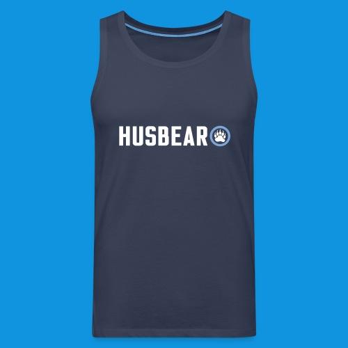 Husbear tank - Men's Premium Tank Top