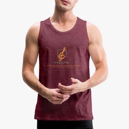 Where Words fails Music speaks!!! - Herre Premium tanktop