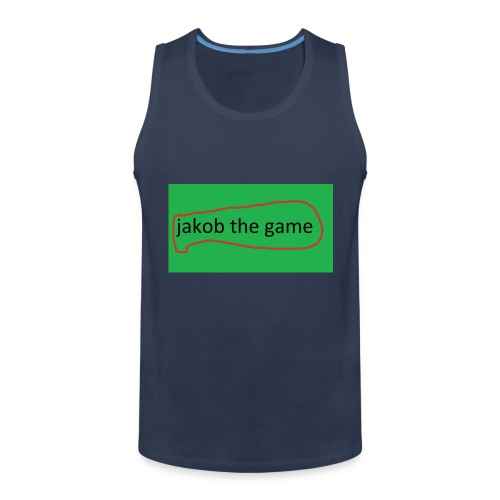 jakob the game - Herre Premium tanktop