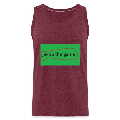 jakob the game - Herre Premium tanktop