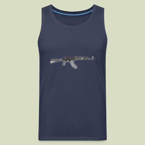 AK - Miesten premium hihaton paita