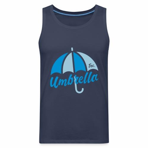 Umbrella Inc. Tipo under logo - Tank top premium hombre