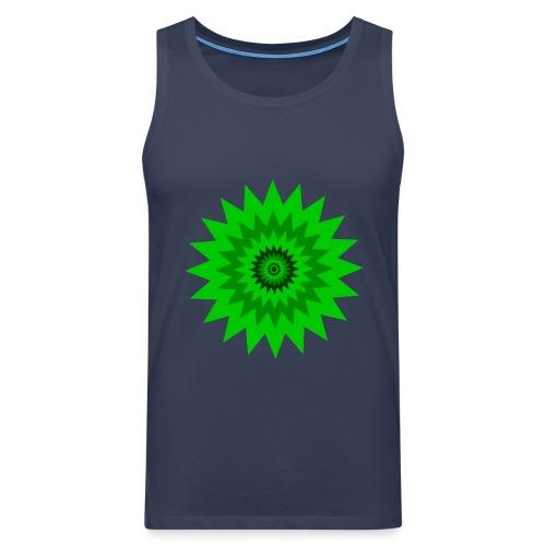 Grüne Sonne - Männer Premium Tank Top