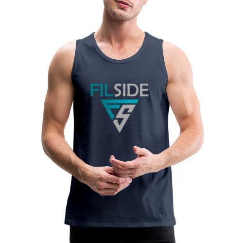 Filside Logo Light - Männer Premium Tank Top
