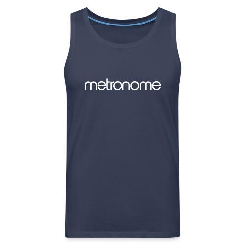 metronomelogo - Men's Premium Tank Top
