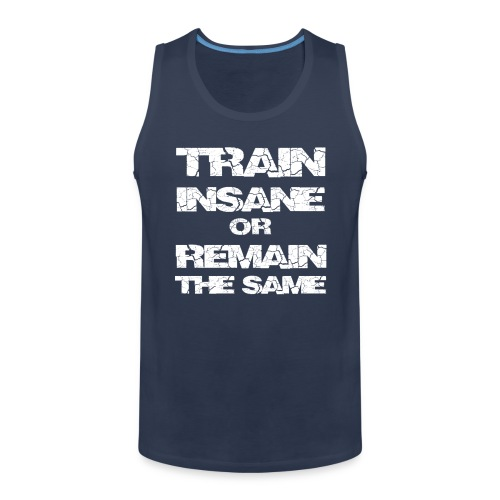 train insane2 - Herre Premium tanktop
