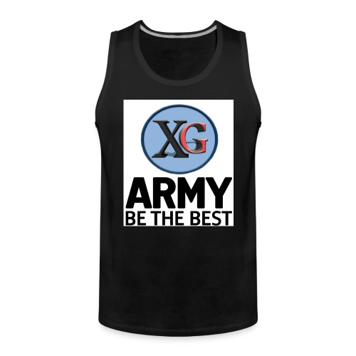 xg t shirt jpg - Men's Premium Tank Top