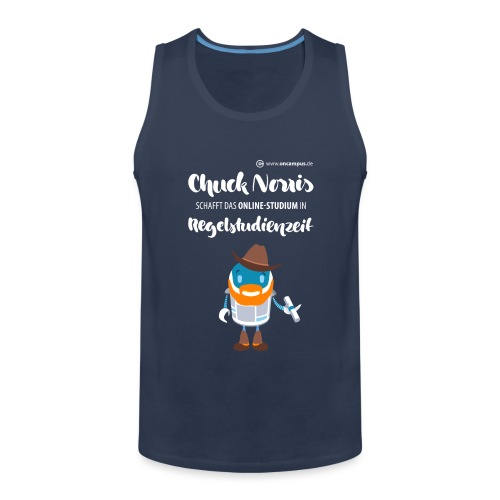 Online-Studium in Regelstudienzeit - Männer Premium Tank Top