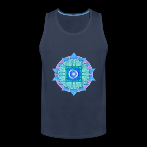mandala 3 - Men's Premium Tank Top