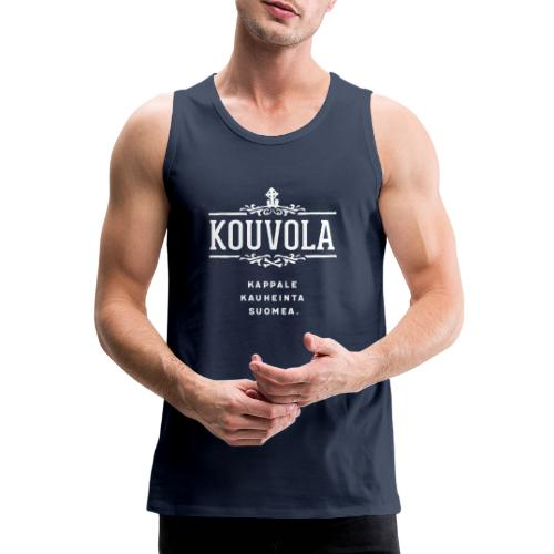 Kouvola - Kappale kauheinta Suomea. - Miesten premium hihaton paita