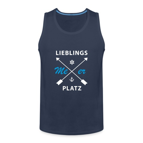 Lieblingsplatz Meer - Männer Premium Tank Top