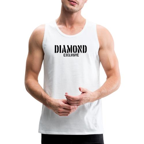 Diamond exclusive V1 apr.2019 - Mannen Premium tank top
