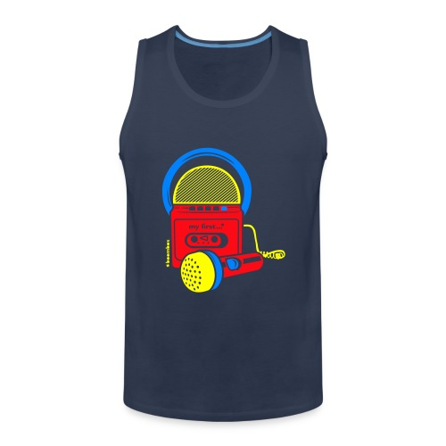 My first Boombox - Mannen Premium tank top