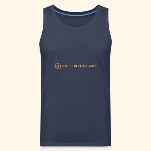 Rudelhilfe Logo - Männer Premium Tank Top