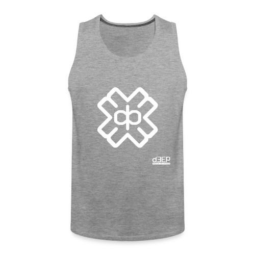 July D3EP Blue Tee - Men's Premium Tank Top