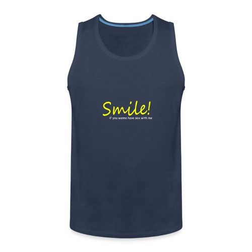 Smile for Sex - Männer Premium Tank Top