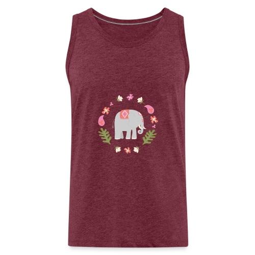 Indian elephant - Canotta premium da uomo