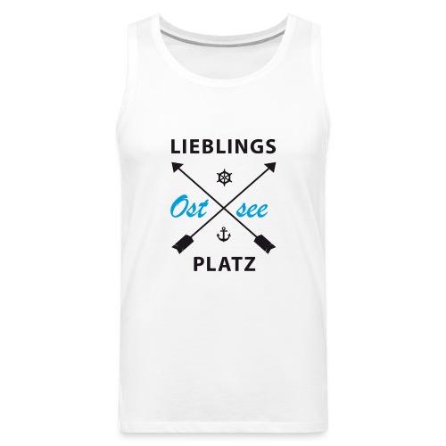 Lieblingsplatz Ostsee - Männer Premium Tank Top