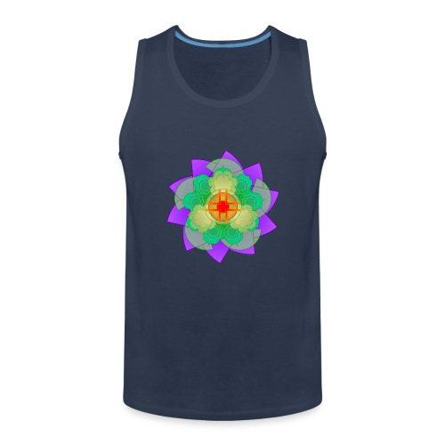 mandala 2 - Men's Premium Tank Top