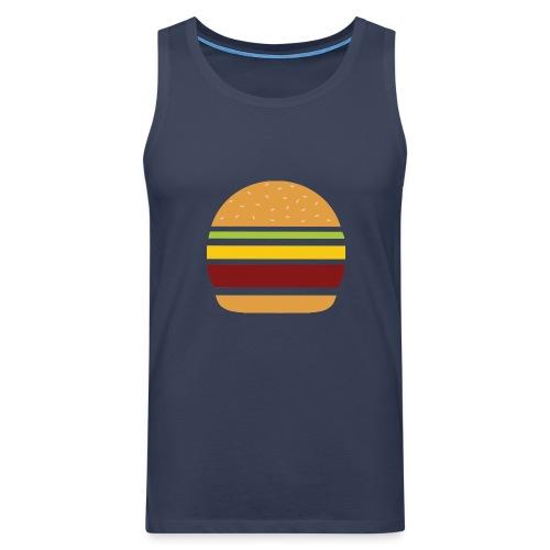 Logo Burger Panhamburger - Débardeur Premium Homme