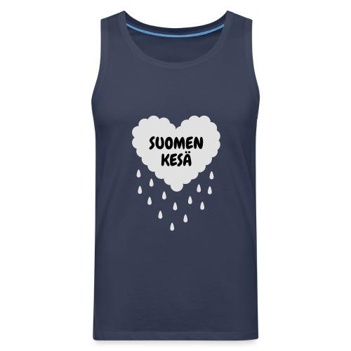 Suomen kesä - Miesten premium hihaton paita