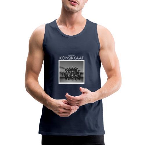 Könsikkäät - joulu saarella - Miesten premium hihaton paita