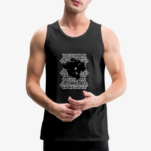 Too many faces (NF) - Men's Premium Tank Top