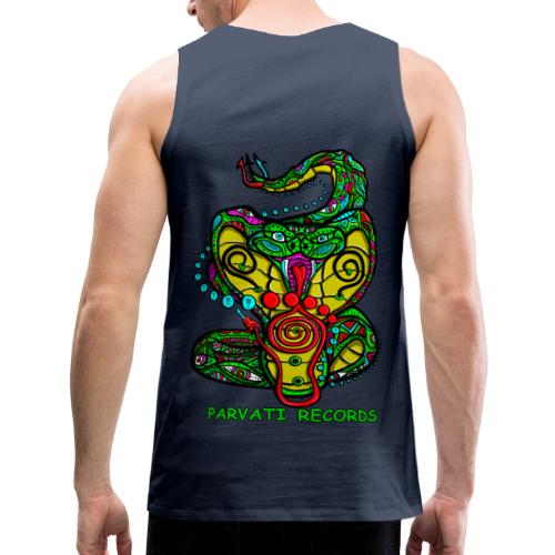 Parvati Records Cobra by Juxtaposed HAMster - Men's Premium Tank Top