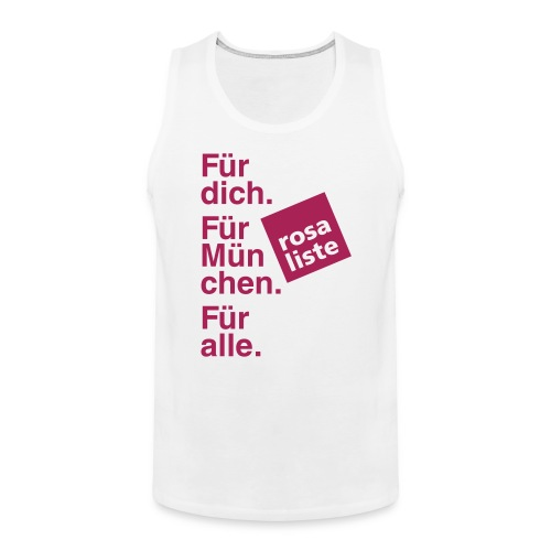 2014_04_19_Shirt_vorne - Männer Premium Tank Top