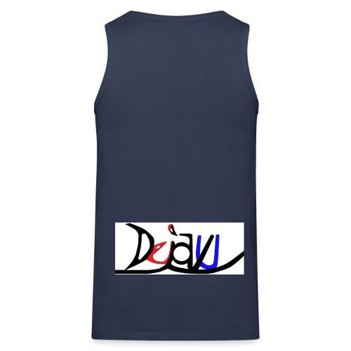 Dejavu Logo 001 jpg - Männer Premium Tank Top