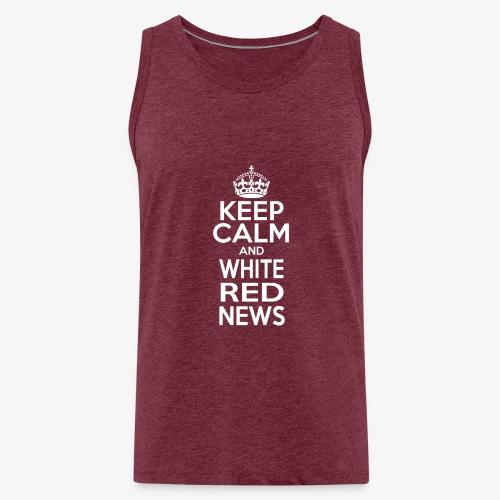 Tazza Rossa Keep Calm WRN - Canotta premium da uomo