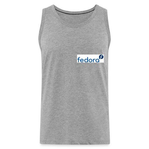 fedora logo - Débardeur Premium Homme