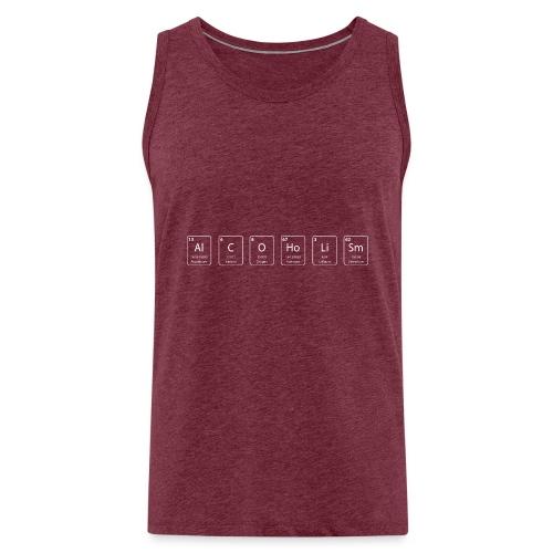 alcoholism nerd shirt - Mannen Premium tank top