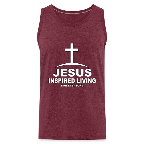 Jesus Inspired Living - Premiumtanktopp herr