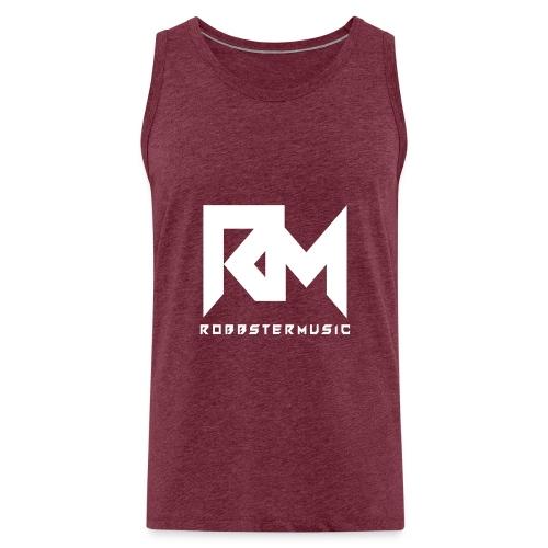 Original RM-Logo White - Männer Premium Tank Top