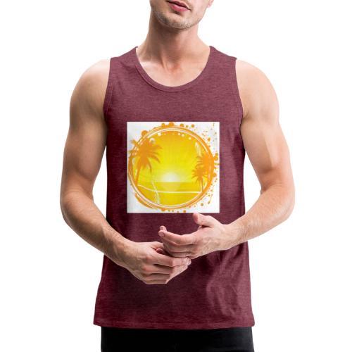 Sunburn - Men's Premium Tank Top