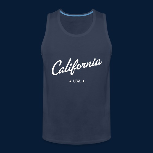 California - Männer Premium Tank Top