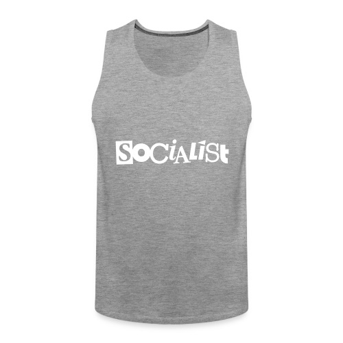 Socialist - Männer Premium Tank Top