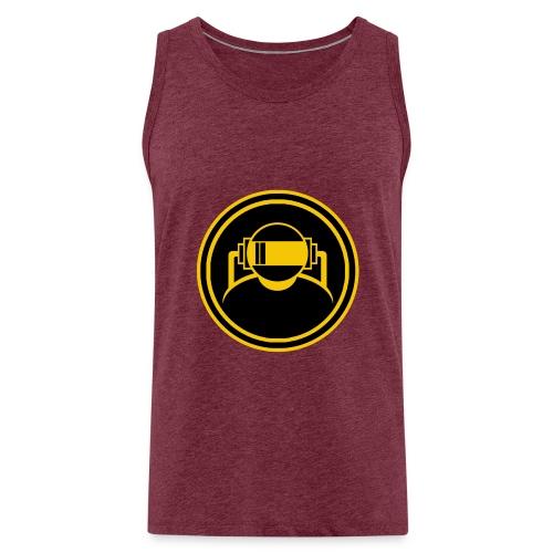 Mens Slim Fit T Shirt. - Men's Premium Tank Top